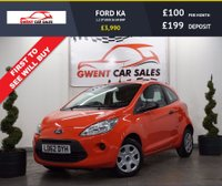 USED 2012 62 FORD KA 1.2 STUDIO 3d 69 BHP **HPI CLEAR, £30 YEAR TAX**