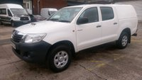 USED 2013 13 TOYOTA HI-LUX 2.5 HL2 4X4 D-4D DCB 1d 142 BHP 1 OWNER F/S/H 2 KEYS VERY CLEAN /////