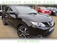 "USED 2014 64 NISSAN QASHQAI 1.5 DCI TEKNA 5d 108 BHP FULL LEATHER, 19"" ALLOYS, PANORAMIC ROOF, SAT NAV, 4X NEW TYRES, FULL SERVICE HISTORY, SPARE KEY"