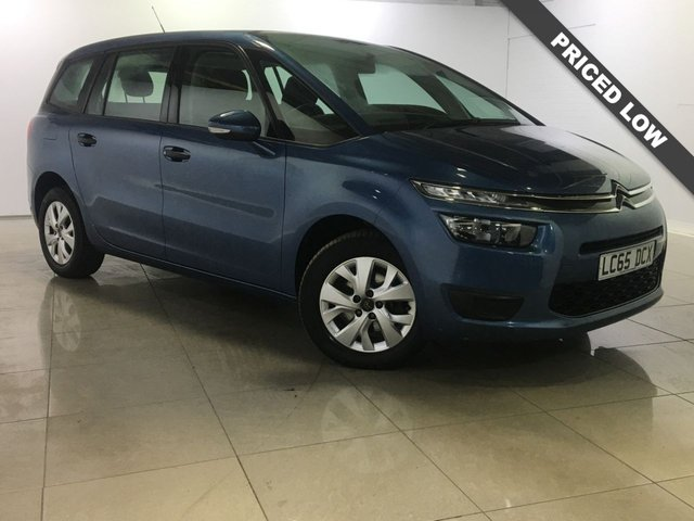 View our 2015 65 CITROEN C4 PICASSO 1.6 GRAND BLUEHDI VTR 5d 98 BHP