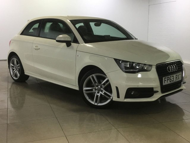 View our 2013 63 AUDI A1 1.6 TDI S LINE 3d 105 BHP