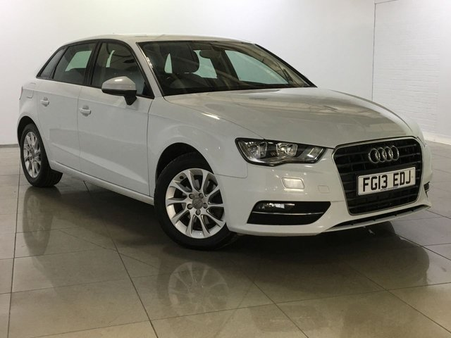 View our 2013 13 AUDI A3 2.0 TDI SE 5d 148 BHP