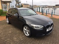 2014 BMW 1 SERIES 2.0 118D M SPORT 3d 141 BHP £11750.00