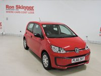 USED 2017 66 VOLKSWAGEN UP 1.0 TAKE UP BLUEMOTION TECHNOLOGY 5d 60 BHP