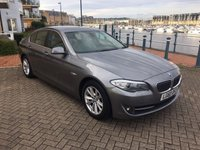 USED 2010 60 BMW 5 SERIES 2.0 520D SE 4d AUTO 181 BHP SAT NAV, LEATHER, BLUETOOTH, FULL SERVICE HISTORY!
