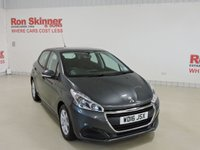 USED 2016 16 PEUGEOT 208 1.6 BLUE HDI ACTIVE 5d 75 BHP
