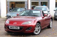 USED 2010 59 MAZDA MX-5 1.8 I SE 2d 125 BHP CONVERTIBLE FSH ** 4 NEW TYRES ** FINANCE AVAILABLE