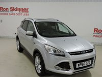 USED 2016 66 FORD KUGA 2.0 TITANIUM X TDCI 5d 148 BHP with Appearance Pack