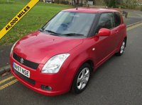 USED 2007 57 SUZUKI SWIFT 1.5 GLX VVTS 3d 101 BHP 46,000 GUARANTEED MILES - SERVICE HISTORY