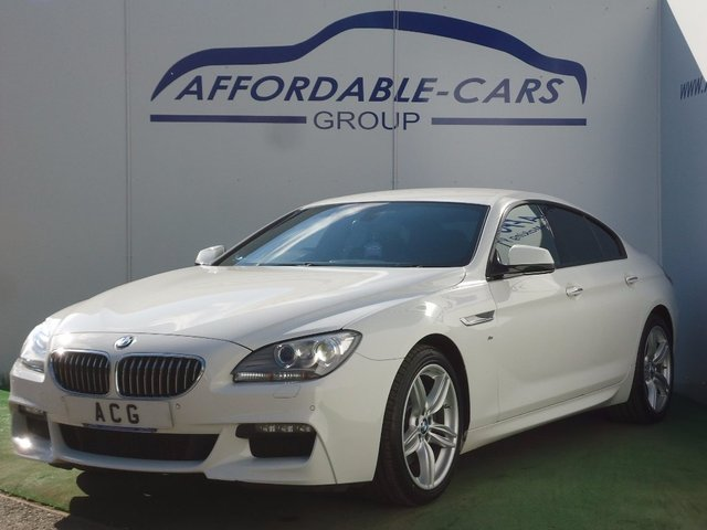USED 2015 15 BMW 6 SERIES 3.0 640d M Sport Gran Coupe Steptronic 4dr SAT NAV+19' ALLOYS+DAB+XENONS