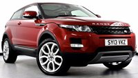 USED 2013 13 LAND ROVER RANGE ROVER EVOQUE 2.2 SD4 Pure Tech Coupe 4x4 3dr Auto Pan Roof, Sat Nav, Hot Seats