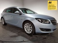 USED 2014 64 VAUXHALL INSIGNIA 2.0 ELITE NAV CDTI 5d AUTO 160 BHP FULL VAUXHALL SERVICE HISTORY - ONE OWNER - LOW MILEAGE - SAT NAV - FULL LEATHER INTERIOR