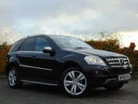2009 MERCEDES-BENZ M CLASS 3.0 ML350 CDI BLUEEFFICIENCY SPORT 5d AUTO £11000.00