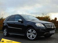 USED 2009 59 MERCEDES-BENZ M CLASS 3.0 ML350 CDI BLUEEFFICIENCY SPORT 5d AUTOMATIC 128 POINT AA INSPECTED**12 MONTHS FREE AA MEMBERSHIP