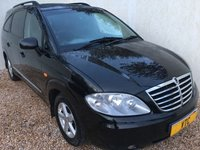 USED 2009 59 SSANGYONG RODIUS 2.7 270 S 5d 163 BHP