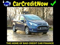 USED 2013 13 FORD B-MAX 1.0 ZETEC 5d 100 BHP APPLY TODAY