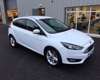 USED 2017 17 FORD FOCUS 1.0 ZETEC ECOBOOST 125 BHP  THIS VEHICLE IS AT SITE 2 - TO VIEW CALL US ON 01903 323333