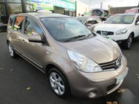 USED 2010 10 NISSAN NOTE 1.6 N-TEC 5d AUTO 110 BHP 12 MONTHS MOT... 3 MONTHS WARRANTY... AUTOMATIC