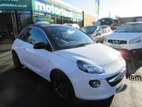 USED 2015 65 VAUXHALL ADAM 1.4 GLAM 3d 85 BHP JUST ARRIVED LOW MILES