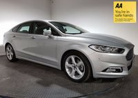 USED 2016 16 FORD MONDEO 2.0 TITANIUM TDCI 5d AUTO 177 BHP FULL SERVICE HISTORY - ONE OWNER - SAT NAV - FRONT & REAR SENSORS - PARKING & LANE ASSIST - BLUETOOTH