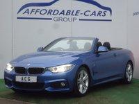 USED 2014 64 BMW 4 SERIES 2.0 425d M Sport 2dr SAT NAV+18' ALLOYS+DAB+XENONS