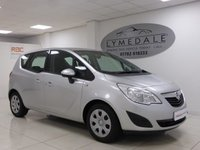 USED 2010 10 VAUXHALL MERIVA 1.4 S 5d 98 BHP Great Looking Car, Excellent Overall Condition