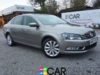 USED 2013 63 VOLKSWAGEN PASSAT 2.0 HIGHLINE TDI BLUEMOTION TECHNOLOGY 4d 139 BHP 1 PREVIOUS OWNER + FULL SERVICE HISTORY