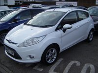 USED 2012 12 FORD FIESTA 1.25 ZETEC 5dr 82ps **ZERO DEPOSIT FINANCE AVAILABLE** PART EXCHANGE WELCOME