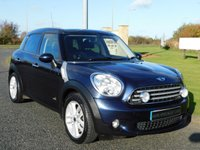 2011 MINI COUNTRYMAN 2.0 COOPER D ALL4 5d AUTO 110 BHP £8990.00