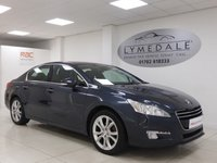 USED 2012 61 PEUGEOT 508 2.0 HDI ALLURE 4d 140 BHP Full History, 12 Months MOT, £30 Road Tax, 1/2 Leather