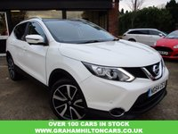 USED 2015 64 NISSAN QASHQAI 1.6 DCI TEKNA 5d 128 BHP FULL LEATHER, SAT NAV, PANORAMIC ROOF, SERVICE HISTORY, SPARE KEY