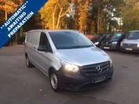USED 2015 65 MERCEDES-BENZ VITO 2.1 116 BLUETEC AUTOMATIC COMPACT Automatic, Air Conditioning, One Owner