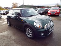 USED 2011 61 MINI HATCH ONE 1.6 ONE D 3d 90 BHP FULL SERVICE HISTORY