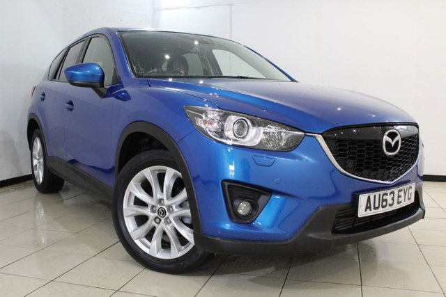 View our 2013 63 MAZDA CX-5 2.2 D SPORT NAV 5DR 148 BHP