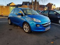 USED 2015 64 VAUXHALL ADAM 1.2 JAM 3d 69 BHP EXCELLENT FUEL ECONOMY!!...LOW CO2 EMISSIONS..LOW ROAD TAX..FULL HISTORY...ONLY 8930 MILES FROM NEW!!..WITH CRUISE CONTROL,MEDIA  AND AIR CONDITIONING!!