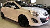 2011 VAUXHALL CORSA 1.2 LIMITED EDITION 3d 83 BHP £6495.00