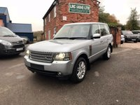 USED 2009 59 LAND ROVER RANGE ROVER 3.6 TDV8 VOGUE 5d 271 BHP This vehicle comes fully serviced to a very high standard