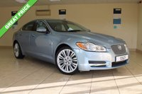 USED 2010 10 JAGUAR XF 3.0 V6 PREMIUM LUXURY 4d AUTO 240 BHP SALOON SATELLITE NAVIGATION, PADDLE SHIFT, SOFT GRAIN LEATHER, BLUETOOTH, KEYLESS, ELECTRIC FRONT SEATS, HEATED FRONT SEATS, ELECTRIC FOLDING MIRRORS