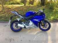 2017 YAMAHA YZF 124cc YZF R125 ABS 15 BHP PLEASE CALL TO VIEW ONLY 450 MILES FROM NEW £3450.00