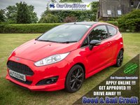 USED 2015 15 FORD FIESTA 1.0 ZETEC S RED EDITION 3d 139 BHP APPLY TODAY !!!