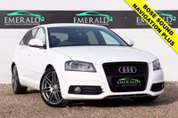 "USED 2010 10 AUDI A3 2.0 SPORTBACK TDI S LINE SPECIAL EDITION 5d 138 BHP **£0 DEPOSIT FINANCE AVAILABLE**SECURE WITH A £99 FULLY REFUNDABLE DEPOSIT** AUDI NAVIGATION SYSTEM PLUS, BOSE SOUND, S LINE HALF LEATHER UPHOLSTERY, PRIVACY GLASS, 18"" ALLOYS, AUX INPUT, HEATED ELECTRIC WING MIRRORS, ELECTRIC WINDOWS, DUAL CLIMATE CONTROL, AIR CONDITIONING, CENTER ARM REST"