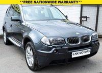 2005 BMW X3 3.0 SE 5d 228 BHP £5000.00
