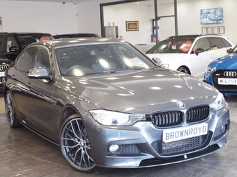 2013 BMW 3 SERIES  320D XDRIVE M SPORT 4d AUTO 181 BHP M PERFORMANCE £17990.00