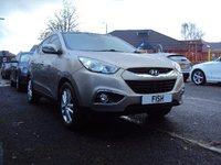 USED 2010 10 HYUNDAI IX35 2.0 PREMIUM CRDI 2WD 5d 134BHP FSH 7STAMPS+2KEYS+LEATHER+PARK