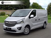 USED 2015 65 VAUXHALL VIVARO 1.6 2700 L1H1 CDTI P/V SPORTIVE 1d 114 BHP AIR CONDITIONING  PLY LINED CHOICE OF VANS