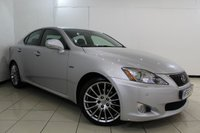USED 2010 60 LEXUS IS 2.5 250 F SPORT 4DR AUTOMATIC 204 BHP FULL LEXUS SERVICE HISTORY + HALF LEATHER SEATS + SAT NAVIGATION + REVERSE CAMERA + CRUISE CONTROL + MULTI FUNCTION WHEEL + 18 INCH ALLOY WHEELS