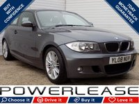 USED 2008 08 BMW 1 SERIES 1.6 116I M SPORT 3d 121 BHP BLACK FRIDAY WEEKEND EVENT, PARKING SENSORS STOP/START