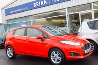 USED 2014 64 FORD FIESTA  ZETEC 1.0T EcoBoost 5dr (100PS) ...ONE PRIVATE OWNER (ZERO ROAD TAX & 65mpg) FULL FORD SERVICE HISTORY, AIR CONDITIONING. ALLOY WHEELS, POWER FOLD- IN MIRRORS. BLUETOOTH. ELECTRIC QUICKCLEAR WINDSCREEN. PARKING SENSORS. LIKE NEW CONDITION THROUGHOUT.