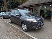 USED 2008 58 FORD KUGA 2.0 ZETEC TDCI AWD 5d 134 BHP # FULL FORD SERVICE HISTORY # 2 KEYS # 2 OWNERS #