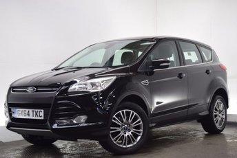 2014 FORD KUGA 2.0 TITANIUM TDCI 5d AUTO 160 BHP £11290.00